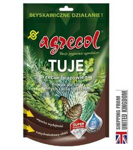 FERTILIZER FOR THUJA AND OTHER CONIFEROUS PLANTS - AGAINST NEEDLE BROWN, 250G