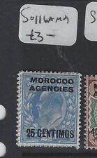 MOROCCO AGENCIES  (P1305B) KE  25C      SG 116A    MOG