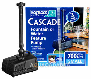 HOZELOCK CASCADE FOUNTAIN & WATERFALL PUMP 450 700 1500 4000 GARDEN FISH POND