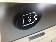 Brabus Logo Trunk Emblem Badge 176-000-21For Mbz CLA 250 Genuine Made In Germany