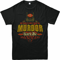 Lord of the Rings T-Shirt Mordor Dark Ale Gift Unisex Adult and kids Tee Top