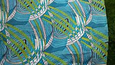 tissu coton 100% imprimé  wax  vente au metre