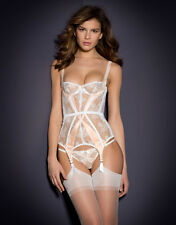 NWT 36B $800 Agent Provocateur Maddy Bridal Corset Basque New Wedding Lingerie
