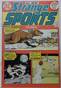 Strange Sports Stories #2 (Nov-Dec 1973, DC), FN-VFN, Swan/Anderson/Giordano art