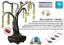Lego Bonsai Custom Australian Wattle Acacia Tree Instructions Pot Plant Garden