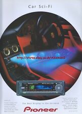 Pioneer Car Sci-Fi Organic EL1999 Magazine Advert #2625