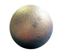 """3"""" Cast Iron Ball crafts wrought iron fences cannon ball replica solid heavy"""