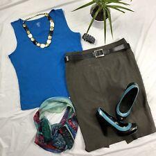 7 Pcs  Womens Clothing Lot Outfit Size Large Jasmine Rose Top, Zara Basics Skirt