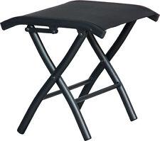 Bank de pied DIPLOMAT noir salon de jardin chaise meuble de jardin