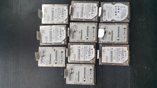 """Lot of 10 Mixed Brand 160GB 2.5"""" SATA Laptop Hard Drive 0.95mm *With Caddy Tray*"""