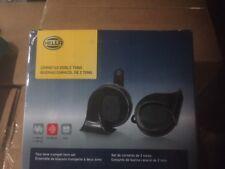 Hella 012010881 Horn Kit Bx Blk Trumpet 12v fits BMW (NEW)
