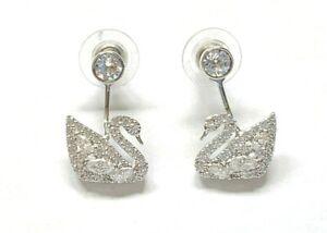 Swarovski SWAN LAKE Pierced Earrings
