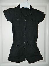 PUMPKIN PATCH girls Black Shorts Romper* 6 7