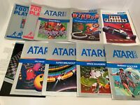 Atari 5200 Manual Only Lot!   B2G1 Free    Free Shipping on orders over $5!