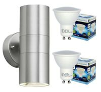 Modern IP65 Stainless Steel 10w LED Outdoor Garden Up & Down Wall Light Lamp 03