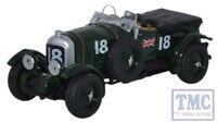 76BB002 Oxford Diecast OO Gauge Bentley Blower French Grand Prix 1930 No8 Birkin