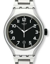 "SWATCH IRONY XLITE STANDARD ""STRIPE BACK"" (YES4011AG) NEUWARE"