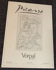 Picasso Exibition Poster Vorpal Gallery