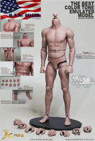 1/6 Scale Emulated Male Figure Body Narrow Shoulder Soft Chest JXS01 ❶USA❶