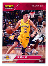 2017-18 PANINI INSTANT #14 LONZO BALL RC ROOKIE LAKERS SP895 LIVE READY TO SHIP!