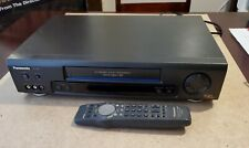 New listing Panasonic Pv-7660 Vcr Vhs Cassette Video Player Recorder With Remote