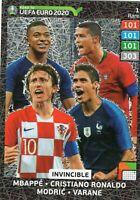 PANINI ADRENALYN XL ROAD TO EURO 2020 INVINCIBLE RARE CARD NO 1 MINT