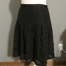 Ann Taylor Loft Brown Mid Length Skirt Size 4