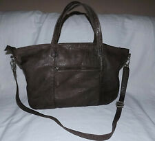 Rock Paper Scissors Extra Large Convertible Bag-Brown color-Very Nice condition!