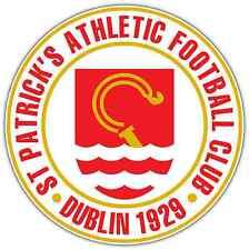 "Saint Patrick's Athletic FC Ireland Football Car Bumper Sticker Decal 4.6""X4.6"""