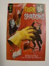 1972 Dark Shadows #12 Barnabas Collins Tv Show Painted Cover Art Gold Key Vg/Fn