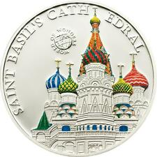 Palau 2010 5$  World of Wonders St. Basil's Cathedral Silver Coin LIMIT 2500 !!!