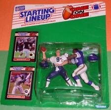 1989 CHRIS DOLEMAN Minn Vikings JIM MCMAHON Chicago Bears 1 on 1 Starting Lineup