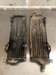 Honda Cr 500 radiators oem 89 90 91 92 93 94 95 96 97 98 99 00 01