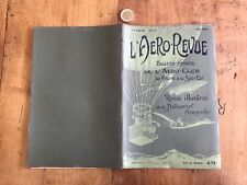 l aero revue numéro 5 1907