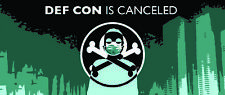 DEF CON is canceled sticker pack 3 stickers DCIC official merchandise
