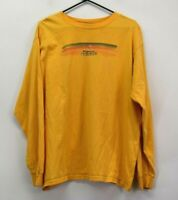 VTG Adidas Men's XL Long Sleeve Cotton Athletic Wear Crew Neck Graphic T-Shirt