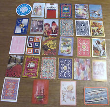 (28)Playing Cards Great For Scrapbook, Junk Journals, Collage, Mixed Media, Swap