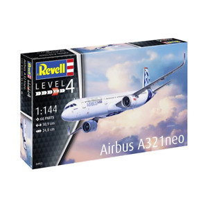 Revell 04952 1/144 Airbus A321neo Plastic Model Kit Brand New