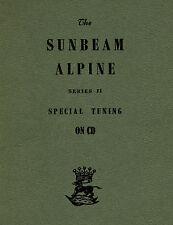 SUNBEAM Alpine serie II TUNING SPECIALE parte no.1206312 - ROOTES