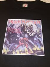 Rare 1980s True Vintage Iron Maiden Number Of The Beast Shirt Size Large Rock T