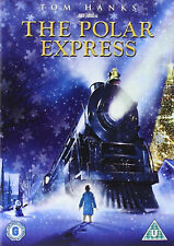 The Polar Express DVD 2004 Tom Hanks Christmas Train Region 2 PAL U Steam Engine