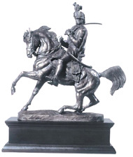 A Superb Creation THE WATERLOO CAVALRYMAN By David Geenty in Cold Cast Bronze