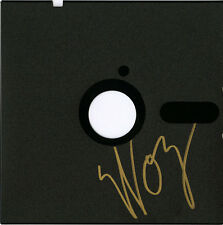 Steve Woz Wozniak SIGNED 5.25 Floppy Disk Co-Founder APPLE COMPUTER AUTOGRAPHED