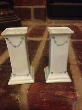 Salt & Pepper Shakers Handpainted Antique O. & E.G. Royal Austria Porcelain Rare