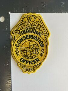INDIANA CONSERVATION OFFICER PATCH