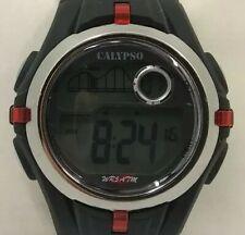9ff93470cb85 Reloj CALYPSO de Festina. Digital negro y rojo.