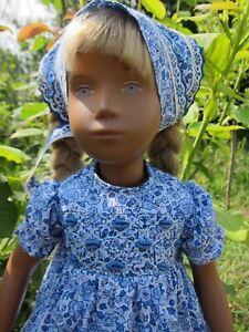 "Handmade dress with hand embroidery For Vintage Sasha Dolls 16-17"""