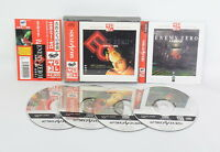 Sega Saturn ENEMY ZERO SC Saturn Collection with spine * Game ss