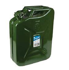 Kanister Benzin Gasöl Reservekanister 20 Liter aus Metall Blech Stahl