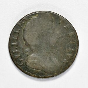 GB WILLIAM COPPER FARTHING - 1700  ++ PRIVATE COLLECTION REDUCTION ++ [C-27]